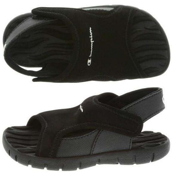 87d4f3ef720 Champion Other - Champion Boy toddler splash sandals size 7